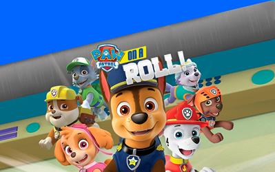 Paw Patrol: On A Roll! cover